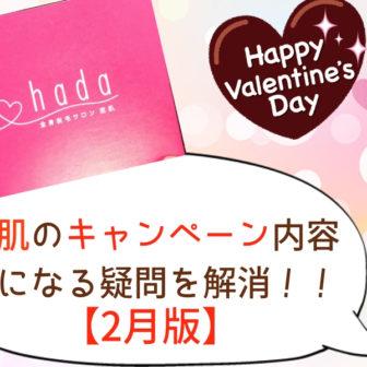 恋肌キャンペーン2月版