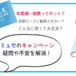 ミュゼのキャンペーン【10月最新】全身2回が240円の仕組みと裏側※