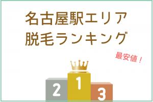 名古屋駅周辺の安い脱毛サロン&医療脱毛